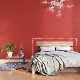 Pantone 17-1558 Grenadine Wallpaper