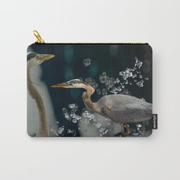 Great blue herons Carry-All Pouch