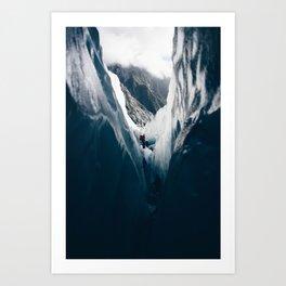 Walls of Ice Art Print