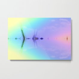 light act blurred in gaudy Metal Print