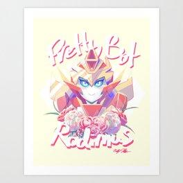 Pretty Bot Rodimus Art Print