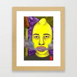 Earl of Sourshirt Framed Art Print