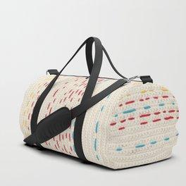 Yarns - Between the lines Duffle Bag