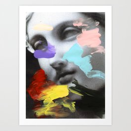 Composition 458 Art Print