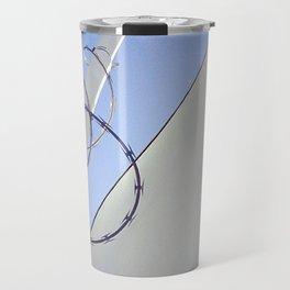 Abstract Urban Texture Study  Travel Mug