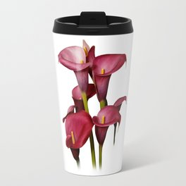 Purple Calla Lilies Travel Mug