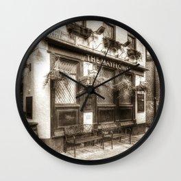 The Mayflower Pub London Vintage Wall Clock