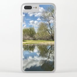 Mirrored Clear iPhone Case