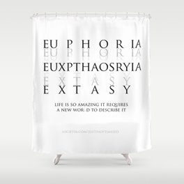 Euxpthaosryia 01 Shower Curtain
