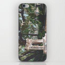 Bonaventure Cemetery iPhone Skin