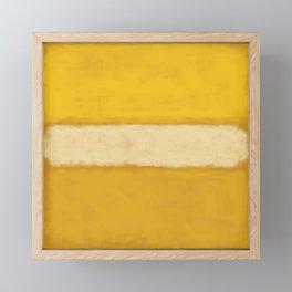 Rothko Inspired #13 Framed Mini Art Print