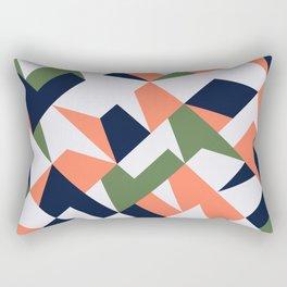 Geometric shapes retro Rectangular Pillow