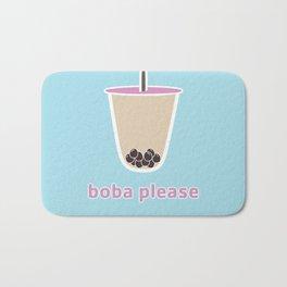 boba please Bath Mat