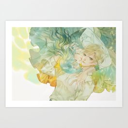 world without you Art Print