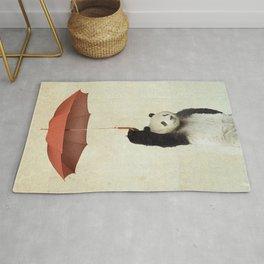 Pandachute Rug