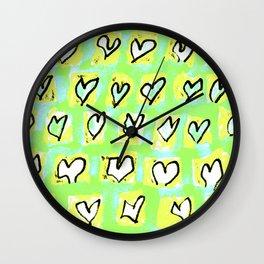 Flying Hearts ~ Change of Heart Wall Clock
