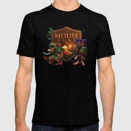 MouseHunt Wood Shield Logo T-shirt