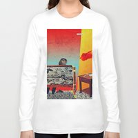 infamous Long Sleeve T-shirts featuring 28 Feet Under by Alec Goss
