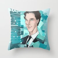 enerjax Throw Pillows featuring CumberCollective by enerjax