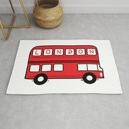 London Bus Rug