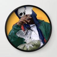 oz Wall Clocks featuring Oz by ArtPharaoh