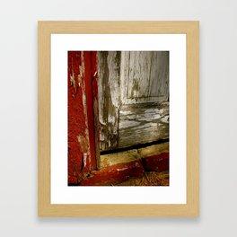 Barn Door Framed Art Print