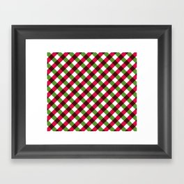 Holiday Pattern Framed Art Print