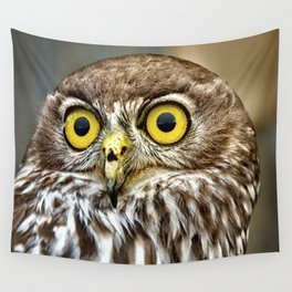 Barking Owl  Wall Tapestry