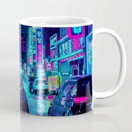 Umbrella in the City Coffee Mug