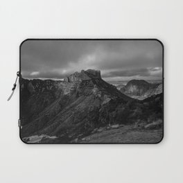Top of Lost Mine Trail Mountaintop View, Big Bend - Landscape Photography Laptop Sleeve