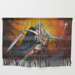Pole Creatures: Valkyrie Wall Hanging