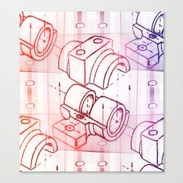 Technical Sketch Canvas Print
