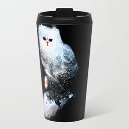 Celestial Cats - The Persian and the Ashes of the First Stars Travel Mug