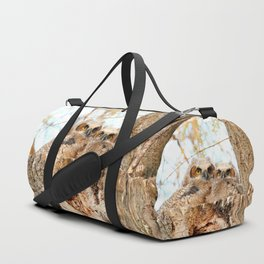 Two peas in a pod Duffle Bag