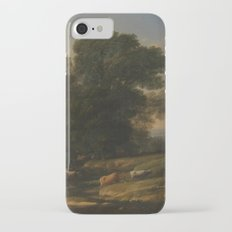 Landscape with Cephalus and Procris reunited by Diana - Claude iPhone 7 Slim Case