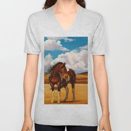 Into The Wide Unisex V-Neck
