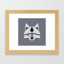 Wolf Spirit Framed Art Print
