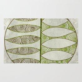 Mesmerizing Leaves Rug