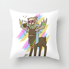 Party Thranduil Throw Pillow