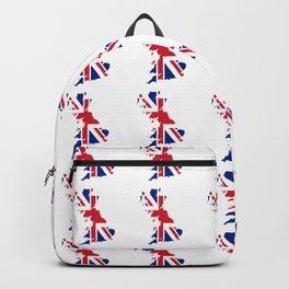flag of uk 2- London,united kingdom,england,english,british,great britain,Glasgow,scotland,wales Backpack