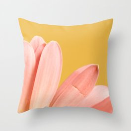011 Flower Throw Pillow