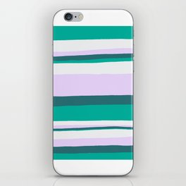 Hermosa, sunset stripes iPhone Skin