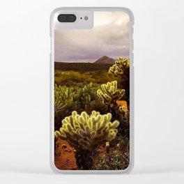 Lean Like a Cholla Clear iPhone Case