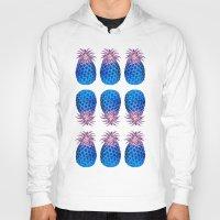 pineapples Hoodies featuring Pineapples 2 by Heaven7