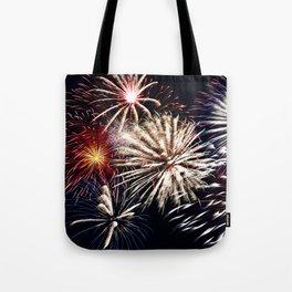 celebration fireworks Tote Bag