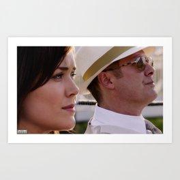 """Raymond Reddington & Elizabeth Keen: """"Horizon."""" Art Print"""