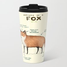 Anatomy of a Fox Metal Travel Mug