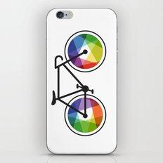 Geometric Bicycle iPhone & iPod Skin