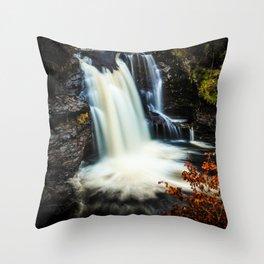 Falls of Falloch Throw Pillow