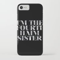 haim iPhone & iPod Cases featuring I'm the fourth Haim sister by Shelby M.